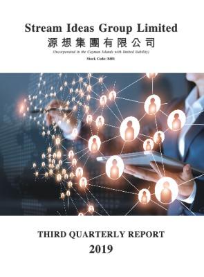 THIRD QUARTERLY REPORT 2019