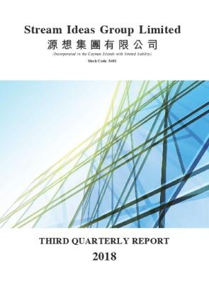 THIRD QUARTERLY REPORT 2018
